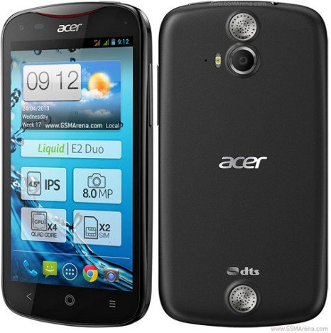 Acer Liquid E2 4GB dual sim black white